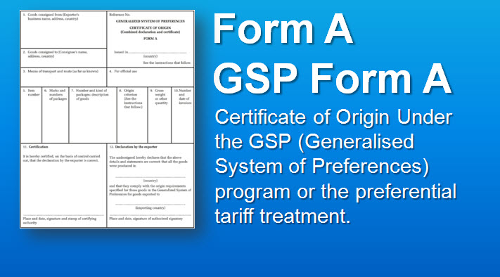 GSP-Form-A