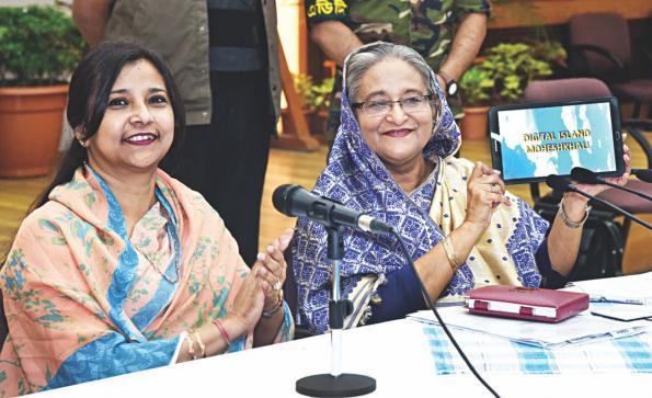 バングラデシュ政府はMoheshkhaliをデジタル・アイランド宣言
