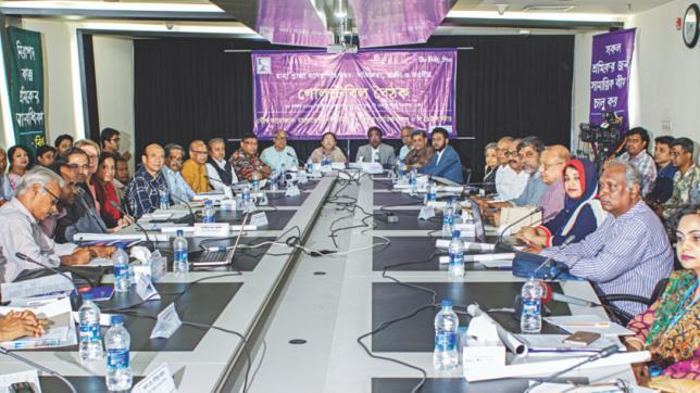 バングラデシュの労働者への保険の告知を、と専門者会議